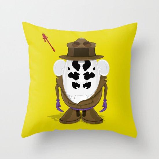 Mr Potato R. Throw Pillow