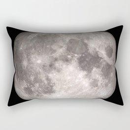 Surface of the Moon - Lunar Landscape Rectangular Pillow