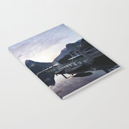 Sunset to die for at Milford Sound Notebook
