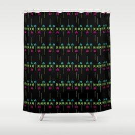 invaders Shower Curtain