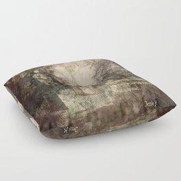 The Long Road Floor Pillow