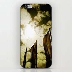 Feed me Clouds iPhone & iPod Skin