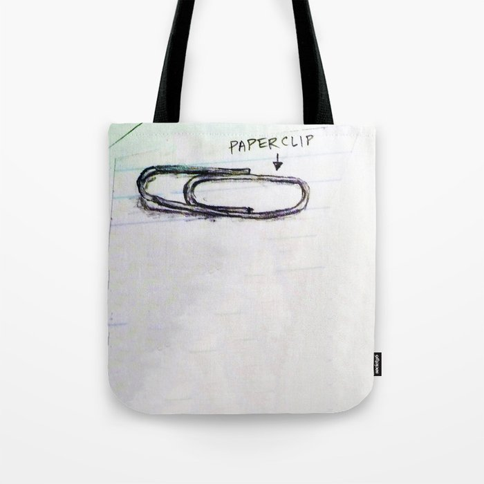 Paper Clip Tote Bag