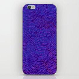 Shagreen Purple Berry iPhone Skin