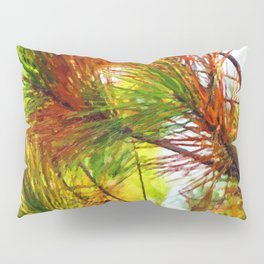 Pine branches with long and dense needles Pillow Sham