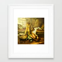 renaissance Framed Art Prints featuring Renaissance by DeeDee