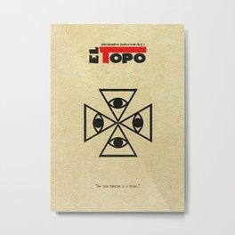 El Topo Metal Print