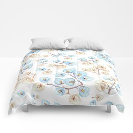 Botanical illustration Comforters