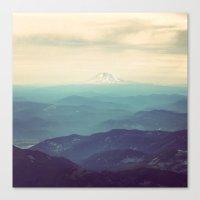 portland Canvas Prints featuring Portland by Monika