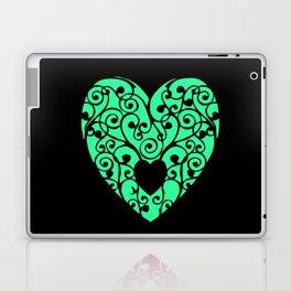 A pink Heart Laptop & iPad Skin