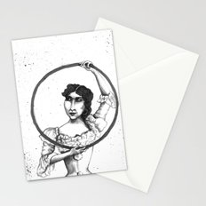 Circus Hoop Dancer Stationery Cards