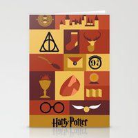 potter Stationery Cards featuring Potter by Polvo