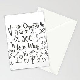 300 Fox Way Stationery Cards