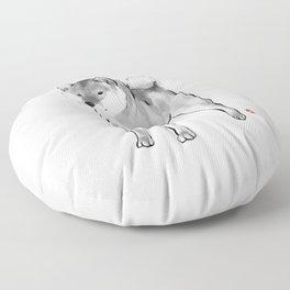 One Handsome Shiba Inu Floor Pillow