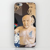picasso iPhone & iPod Skins featuring Picasso by Matthew Lake