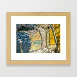 Colorful - Second Home Framed Art Print