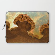 Broccoli Planet in Fall Laptop Sleeve