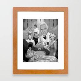 Denver's First Family Framed Art Print