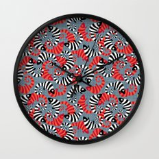 Safety in Numbers Wall Clock