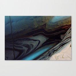 The Death Of Passolini Canvas Print
