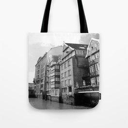 Nikolaifleet Hamburg Tote Bag
