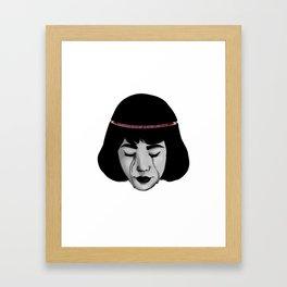 Pick My Brain Framed Art Print