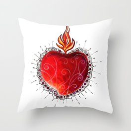 ExVoto Throw Pillow