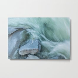 Marble River Run Metal Print