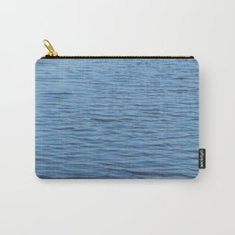 Texture of water in a river Carry-All Pouch