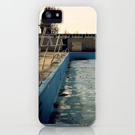 Piscine Jarry iPhone Case