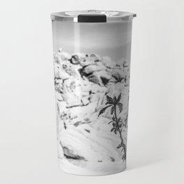 Buttermilk B/W Travel Mug
