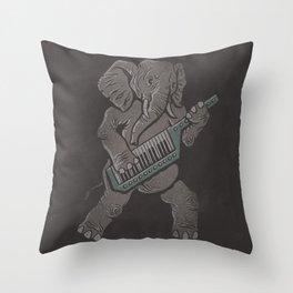 Trunk Rock Throw Pillow