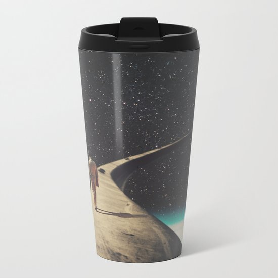 We Chose This Road My Dear Metal Travel Mug