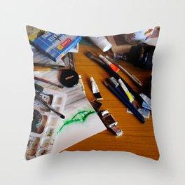 art background,  Throw Pillow