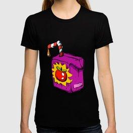 Smiling apple juice box . T-shirt