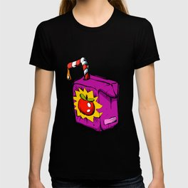 Smiling apple juice box . T-shirt