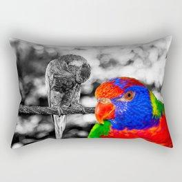 The bird in paradise Rectangular Pillow