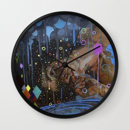 absent-minded Wall Clock