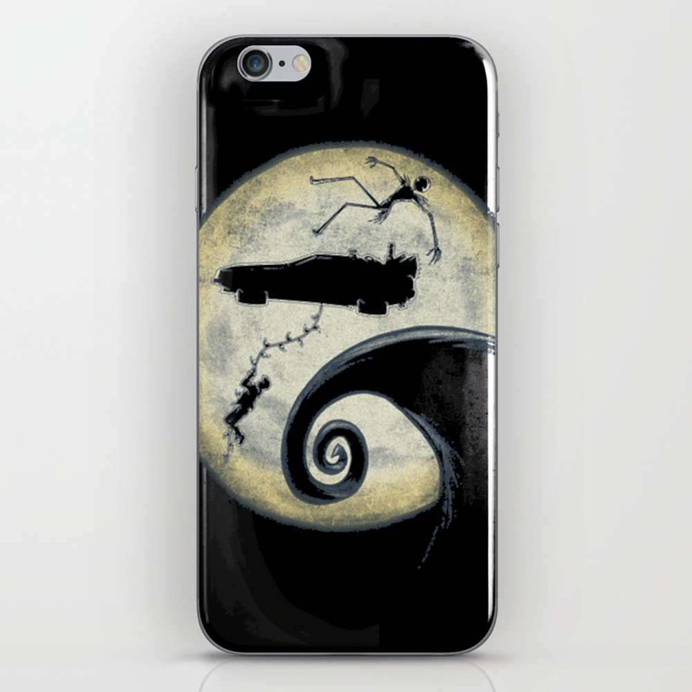 Back To The Nightmare Iphone & Ipod Skin by Tranthuthuayhrng PSK7823915