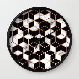 Marble & Geometry 005 Wall Clock