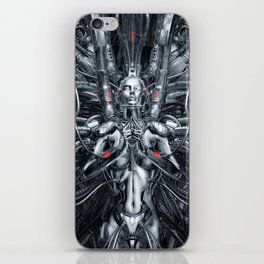 Maiden In The Machine iPhone Skin