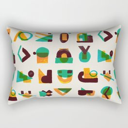 Shape of thoughts Rectangular Pillow