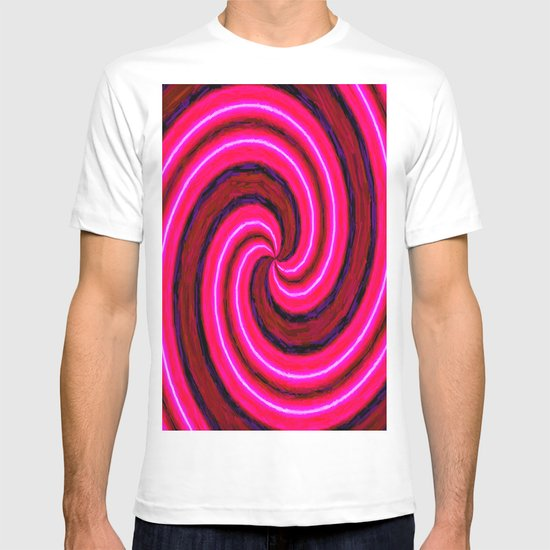 Abstract Pink Modern T-shirt