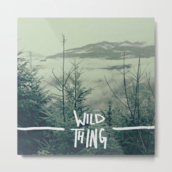 Wild Thing: Skagit Valley, Washington Metal Print