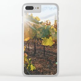 Late Season Vines Clear iPhone Case