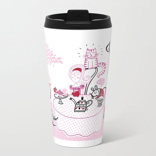 Alice Metal Travel Mug