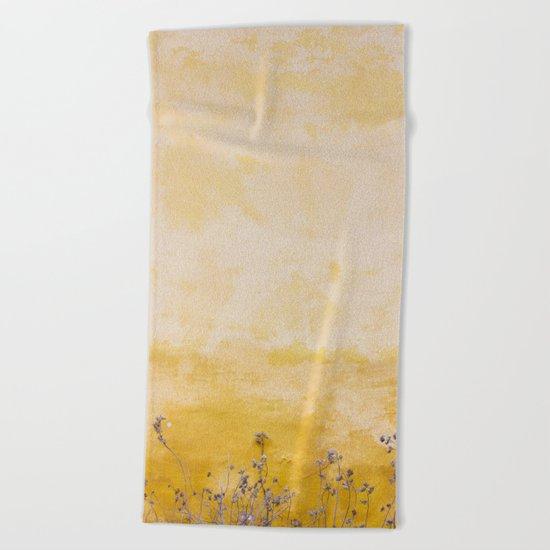 Vintage Wall Beach Towel