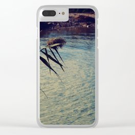 summer chillout Clear iPhone Case