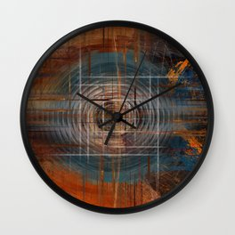 Unoccupied Digital Landscape Wall Clock