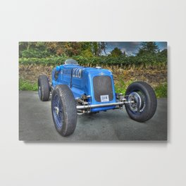 Frazer Nash Vintage Racing Car Metal Print